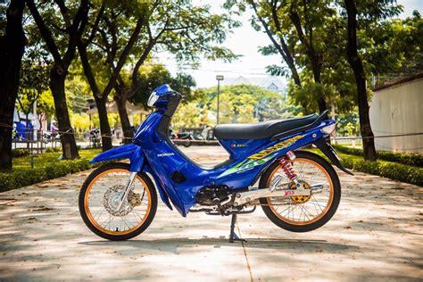 Supra Thailook by Modifikasi Honda Supra X 100 Minimalis Trendy Thailook