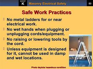 masonry electrical safety training by rocky mountain With electrical safety procedures