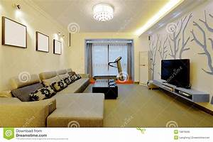Modern Home Decorating Style Royalty Free Stock Image