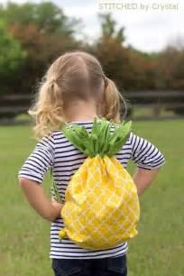 Pineapple Backpack Drawstring