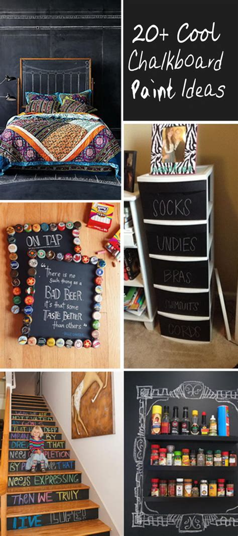 cool chalkboard paint ideas hative