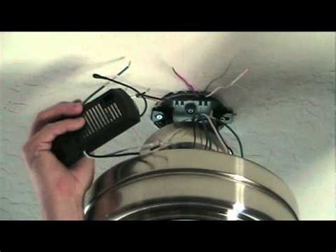 install  ceiling fan  remote control youtube