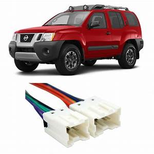 Nissan Xterra X 2009-2014 Factory Stereo To Aftermarket Radio Install Harness
