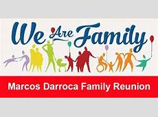Marcos Darroca First Family Reunion at Knights of Columbus