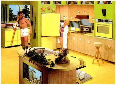island kitchen images 1000 ideas about 1960s kitchen on 1970s 1960