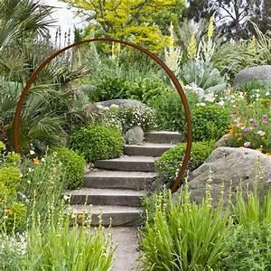 Decoration Jardin Metal : porte de lune en acier rouill diam objets d co de ~ Teatrodelosmanantiales.com Idées de Décoration