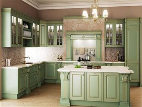fashioned kitchen cabinet bloombety fashioned green kitchen cabinet 3630
