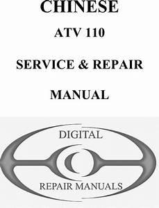 Chinese Atv 110cc Service Manual Pdf
