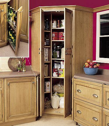 kitchen corner cabinet pantry designs  stillwater