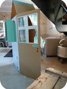 Cabane En Carton À Colorier : tuto kids une maison en carton loisirs cr atifs ~ Melissatoandfro.com Idées de Décoration