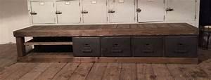 Meuble Tv Bas Et Long : meuble tv bas long choix d 39 lectrom nager ~ Teatrodelosmanantiales.com Idées de Décoration