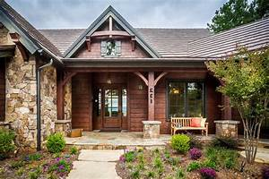 Rustic front porch exterior rustic with wood siding shake
