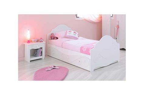 meuble de rangement chambre lit design laqué blanc fille trendymobilier com