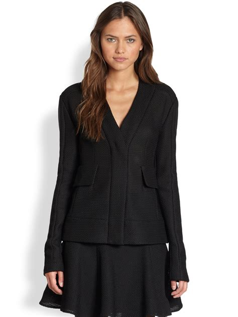 Nanette Lepore Supernova Jacket in Black | Lyst