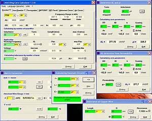 Gestreckte Länge Berechnen Programm : mini ringkern rechner programm zur berechnung von induktivit ten spulen und deren ~ Themetempest.com Abrechnung
