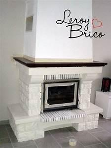 Cheminée En Brique : leroy brico blog de bricolage et de d coration ~ Farleysfitness.com Idées de Décoration