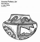Coloring Pages Southwest Printable Pottery American America Study Frontier Sheets Keeffe Acoma Nm Unit Josefina Native Pot Southwestern Collections Georgia sketch template