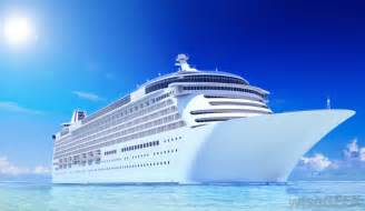 Cruise Ship On Water