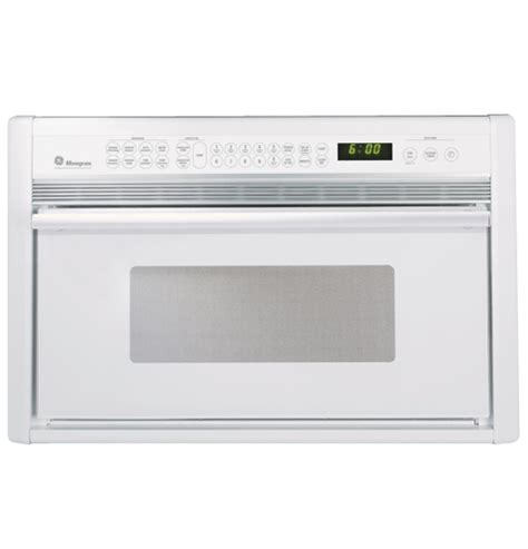 ge monogram white built  microwave convection oven zmcwb ge appliances