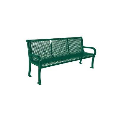 Bench Park Benches Commercial Outdoor Play Steel