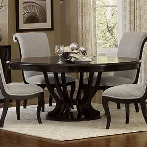 Savion, Round, Dining, Table, By, Homelegance