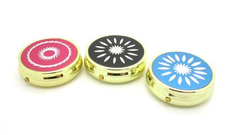 Aculife Round Decorative Brass Pill Box With 3 Internal Black And White Bathroom Designs Pictures Small Remodel Images Shower Ideas Layout Tile Trim Hgtv Photos Of Remodels