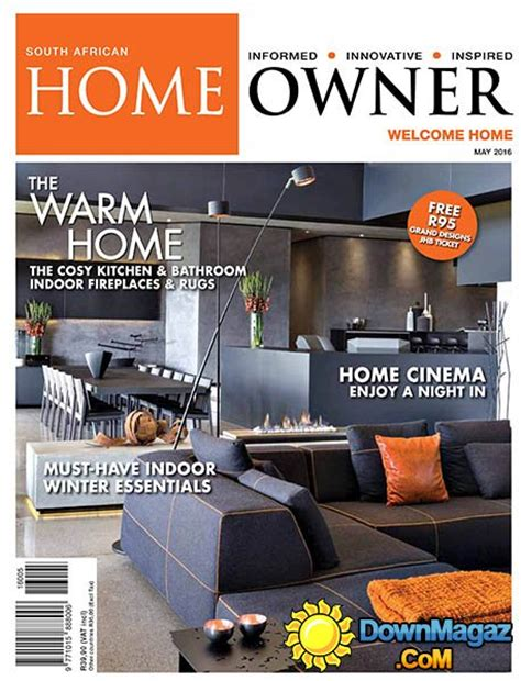 Decor Magazines South Africa by South Home Owner May 2016 187 Pdf