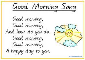 Good Morning Song School