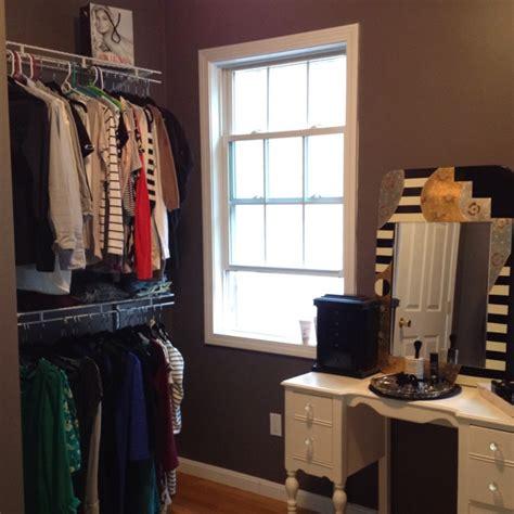 turn a room into a closet vanity master bedroom closet