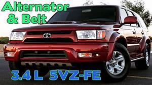 3 4l 5vz - Fe - Alternator And Belt Replacement