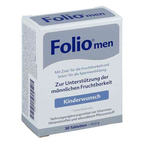 folio men tabletten  stk  apotheke juvalis