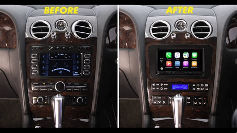 bentley radio replacement interface  fascia youtube
