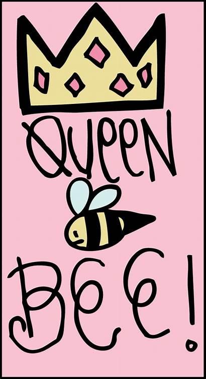 Bee Queen Clipart Cartoon Clip Cliparts Girly