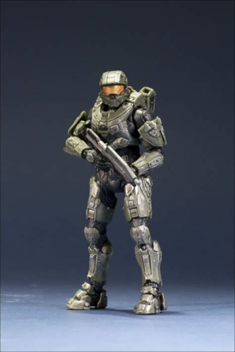 halo  action figure series  master chief  anime shelf