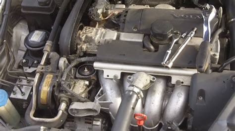 mg volvo  thermostat replacement youtube