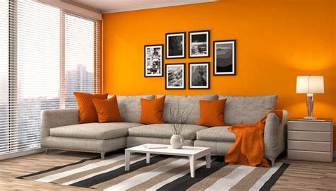 Wandfarbe Orange Kombinieren by Wandfarbe Grau Kombinieren Graut 246 Ne Geschickt Kombinieren