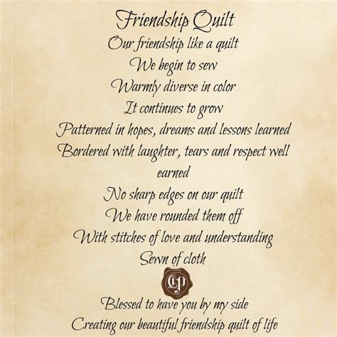 Poems About Friendship
