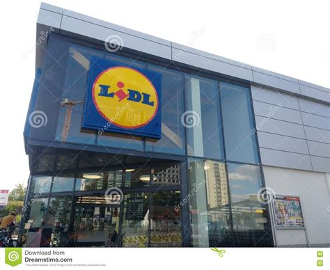 Lidl Shop Editorial Stock Image. Image Of Shopping, Lidl