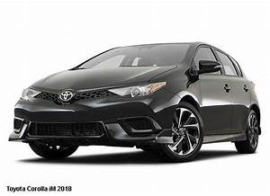 Toyota Corolla Im Manual 2018 Price Specification