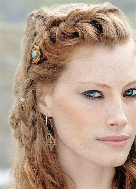viking hairstyles  women  long hair