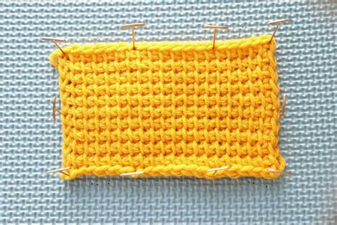 tunisian crochet basics  beginners