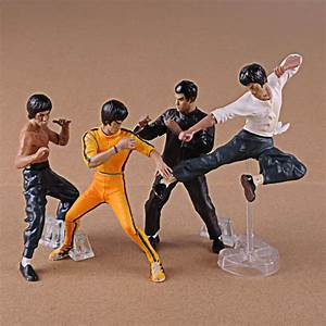 Kung Fu Figuren : 4pcs set bruce lee figures pvc action figure kung fu collection toys master legend in action ~ Sanjose-hotels-ca.com Haus und Dekorationen