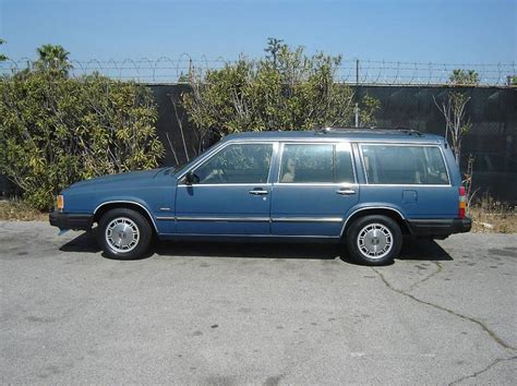 volvo station wagon 1987 volvo station wagon blue with tan interior