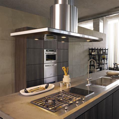 hotte pour cuisine hotte îlot pratique et convivial pour une cuisine moderne