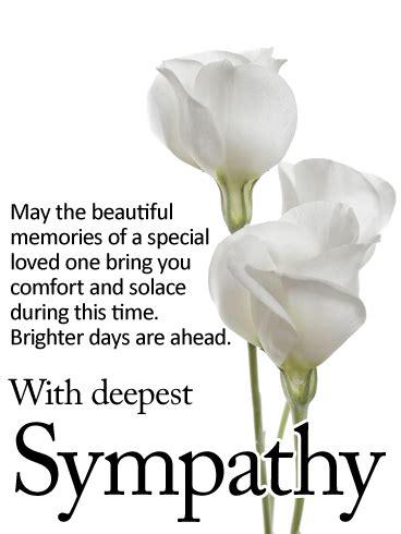 brighter days   sympathy card birthday