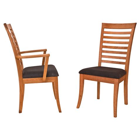 ladder back dining chairs with seats ladder back dining chair vermont woods studios