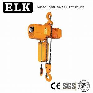 China 5ton Slipping Clutch Electric Chain Hoist Suppliers