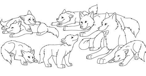 Wolf Pup Coloring Pages Democraciaejustica