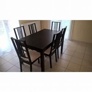 Chaise Noire Ikea : chaise noir pas cher chaise albatros verona lot de chaises noir pieds with chaise noir pas cher ~ Teatrodelosmanantiales.com Idées de Décoration