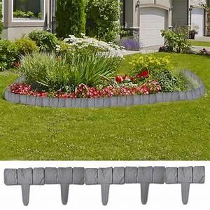 Garten Klappstühle Kunststoff : der kunststoff garten rasenzaun steinoptik 41 tlg 10 m online shop ~ Markanthonyermac.com Haus und Dekorationen